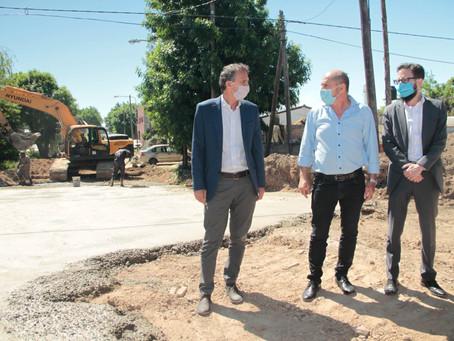 Katopodis recorrió cuatro municipios bonaerenses para avanzar en el Plan Argentina Hace