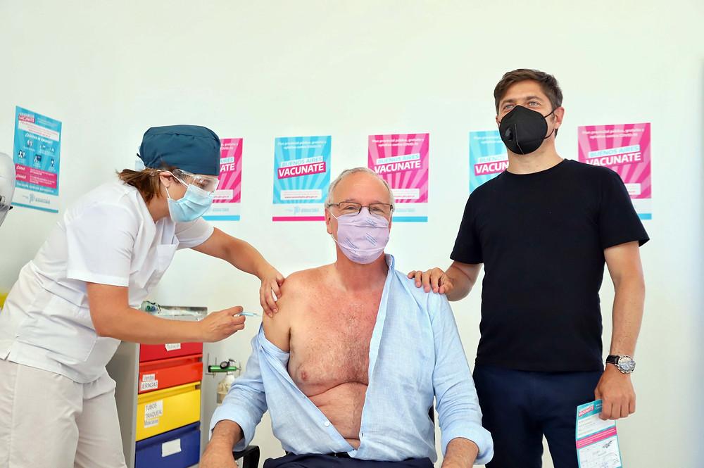 La Provincia comenzó la vacunación para mayores de 60 años y la aplicación de la segunda dosis.
