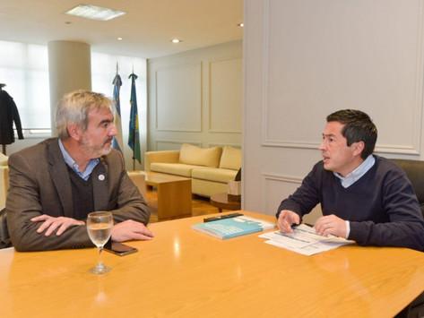 Nardini analizó con intendentes el avance de obras hídricas y de infraestructura vial