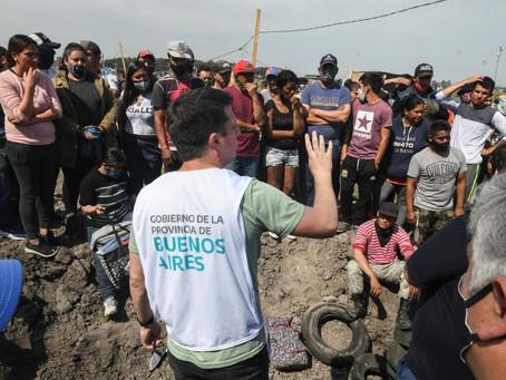 El Gobierno provincial avanza con la relocalización de los ocupantes de la toma de Guernica
