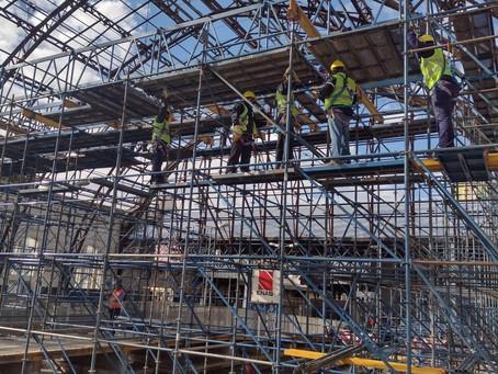 La Plata | Iniciaron los trabajos de recuperación de la estación de trenes