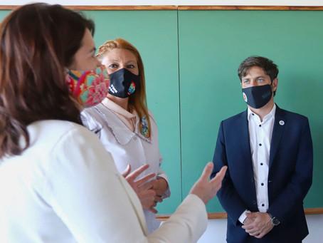 Pehuajó | Kicillof presentará el programa de fortalecimiento de la planta de docentes y auxiliares