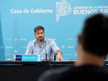 Ciclo lectivo 2021 | Bianco pidió no hacer demagogia y dijo que dependerá de la situación sanitaria