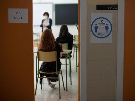 Vila y Gollan se reúnen con gremios docentes para analizar el impacto de la pandemia en las aulas