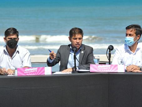 """Kicillof   En la Provincia de Buenos Aires """"no hay vacunatorios ocultos ni privatizados"""""""