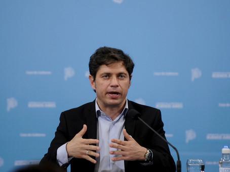 Kicillof anunció nueva extensión del canje de su deuda en moneda extranjera