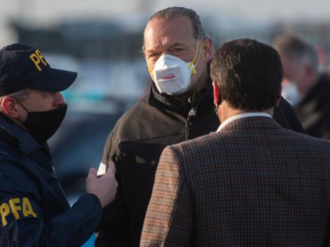 """""""Es una persona peligrosa"""", dijo Berni sobre el último detenido por el asalto al jubilado"""