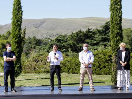 Kicillof presentó la segunda etapa de fondos para la reactivación del turismo y la cultura