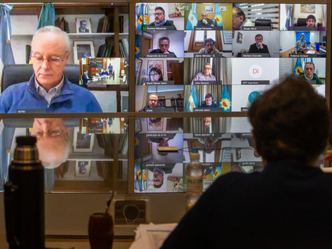 Kicillof mantuvo una reunión con intendentes del AMBA por la nueva etapa de aislamiento social