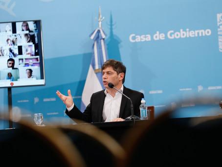 "Kicillof ratificó clases presenciales en 24 municipios bonaerenses como ""experiencia piloto"""