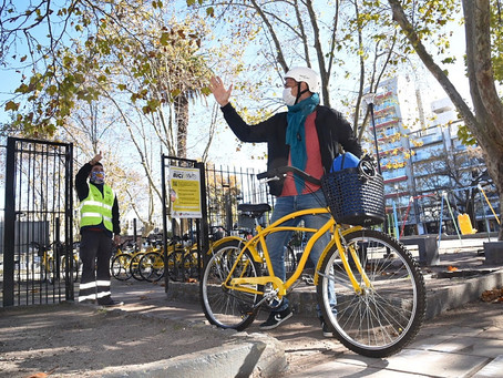 La Plata | Creció 50% el uso de la bicicleta como medio de transporte durante la pandemia