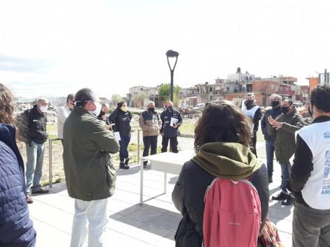 San Martín | Acuerdan reanudar obras en el barrio Costa Esperanza