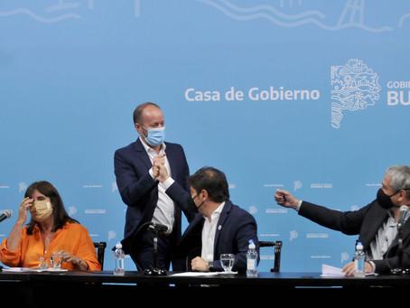"""Cañuelas, Lomas de Zamora, Quilmes, Morón y Merlo, los distritos beneficiados con """"viviendas dignas"""""""