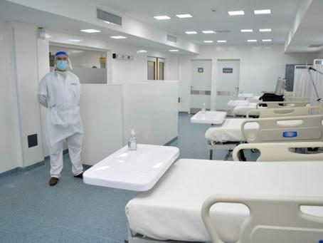 Otras 186 personas murieron y 10.097 fueron diagnosticadas con coronavirus en el país