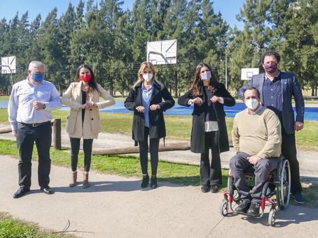 Arrondo respalda e impulsa programas deportivos conjuntos en Cañuelas