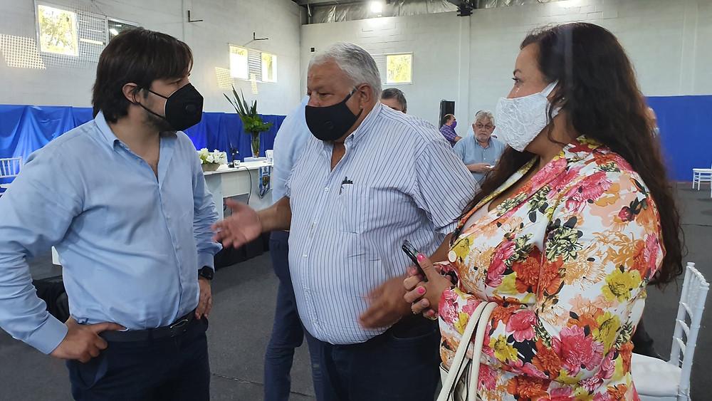 Kreplak participó de la firma del convenio de colaboración y asistencia entre el Ministerio de Salud bonaerense y la AFA.