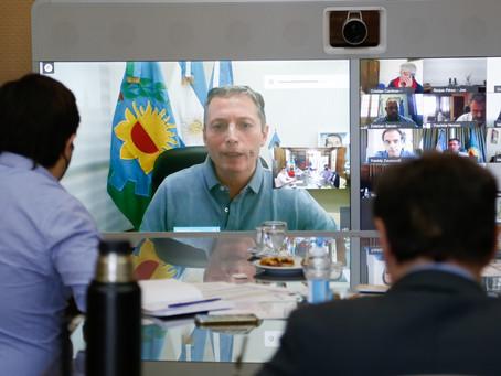 Kicillof evaluó la situación epidemiológica de la Provincia junto a intendentes y especialistas