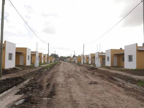 General Paz y Chascomús | Destacan la generación de empleo con la construcción de viviendas