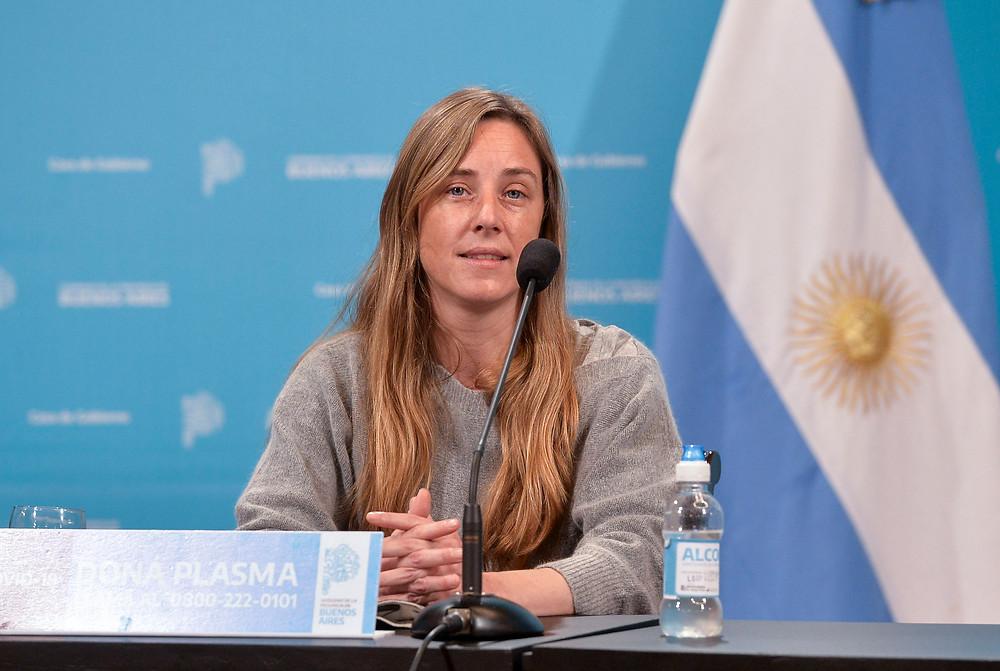 Agustina Vila, Directora de Cultura y Educación bonaerense.