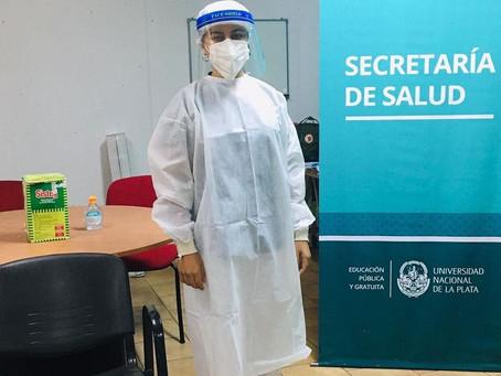 La Plata | La UNLP montó su propio centro de hisopados para detectar coronavirus