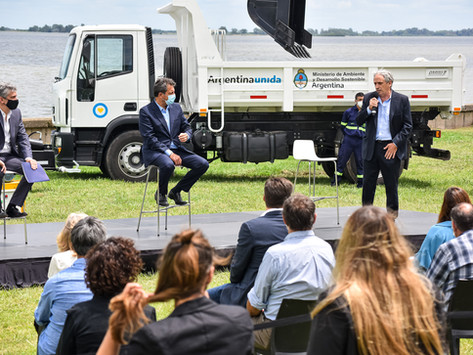 Chascomús | El municipio recibió maquinaria por 8 millones de dólares para optimizar los residuos