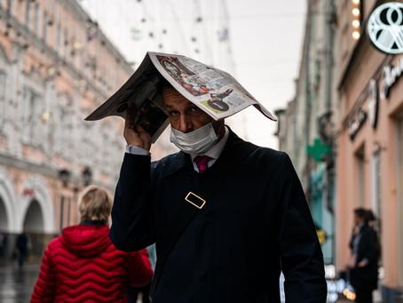 Rusia registra casi 13.000 nuevos casos de coronavirus, la cifra más alta en cinco meses