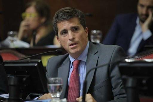 Senador de Juntos por el Cambio, Juan Pablo Allan.