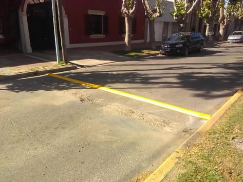Saladillo | Realizan tareas para mejorar el tránsito en la ciudad y evitar accidentes viales