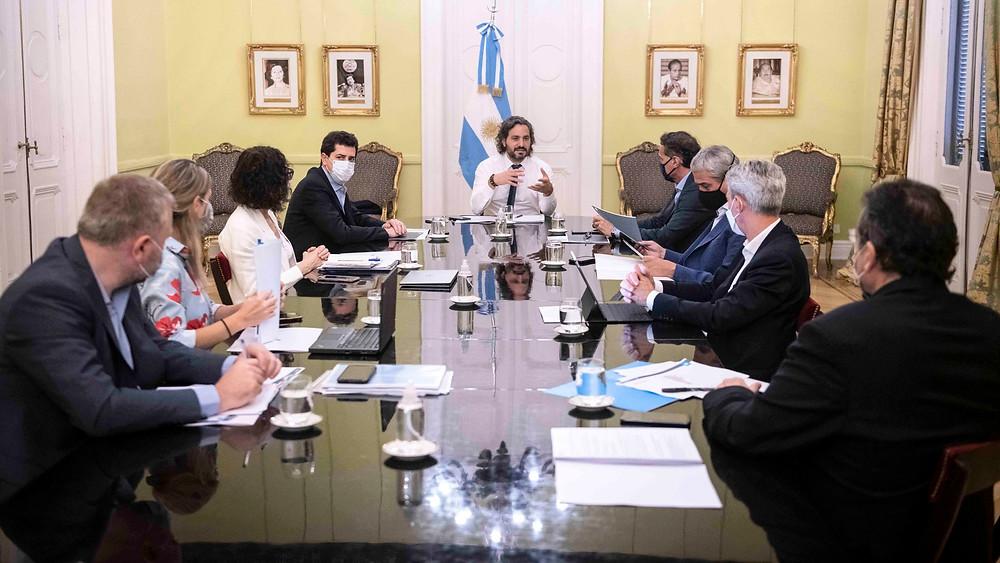 Reunión del gabinete de Promoción Federal.