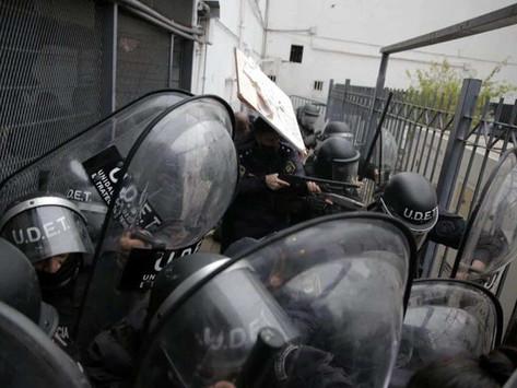 """Insaurralde: """"Nada tuvo que ver con una protesta social, esto fue organizado"""""""
