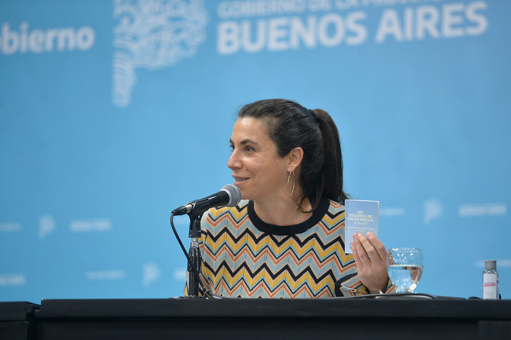 Subsecretaria de Salud Mental, Julieta Calmels.