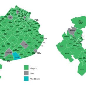 Sólo en 8 de los 135 municipios bonaerenses se registraron fallecimientos por coronavirus