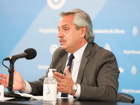 El Presidente anunció la extensión del ASPO y DSPO hasta el 29 de noviembre