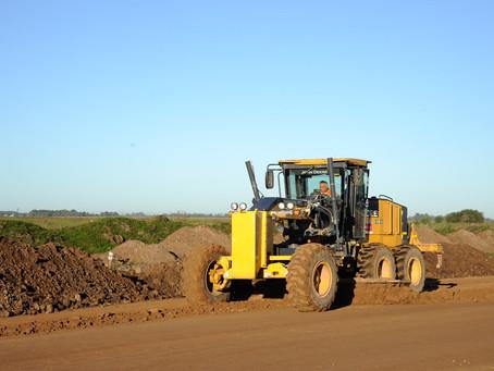Chacabuco   Katopodis recorrió las obras que se ejecutan para transformar en autopista la Ruta 7