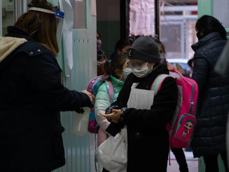 Más de 60 municipios de la Provincia de Buenos Aires retoman la presencialidad escolar