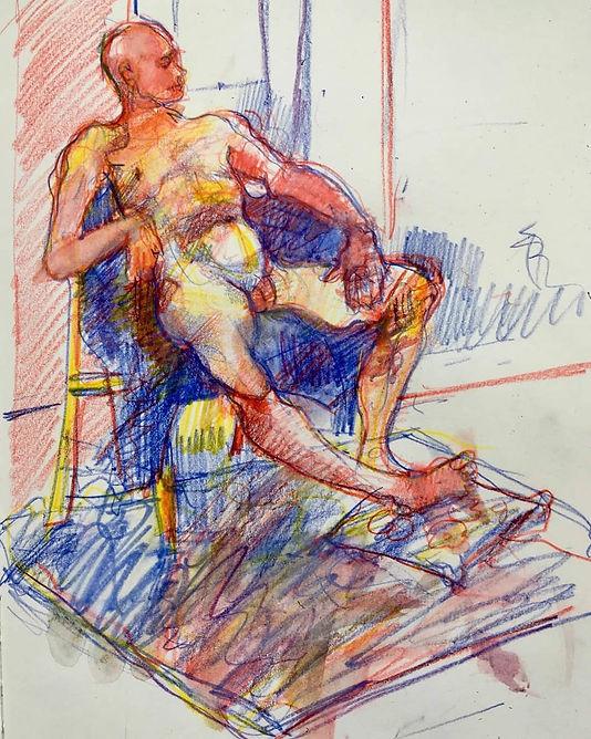 40 min pose, Dennis Spicer Artist_edited.jpg