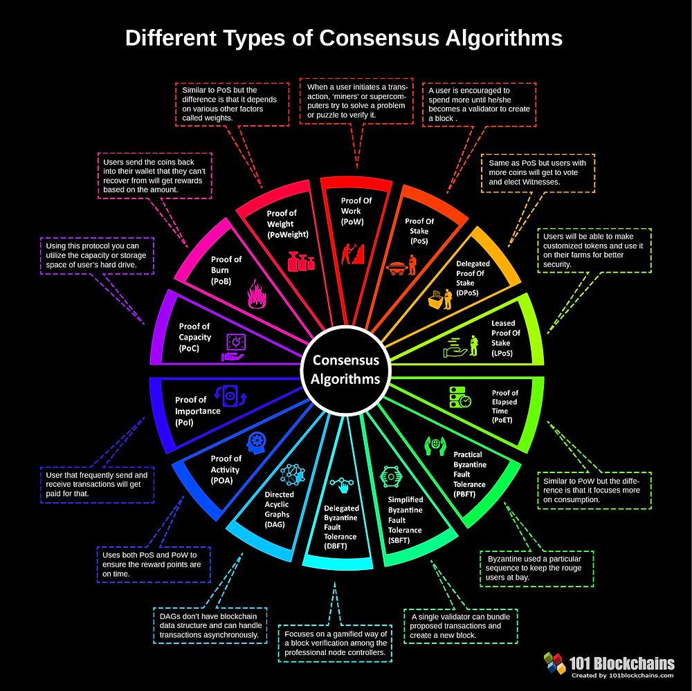 Types of consensus algorithms