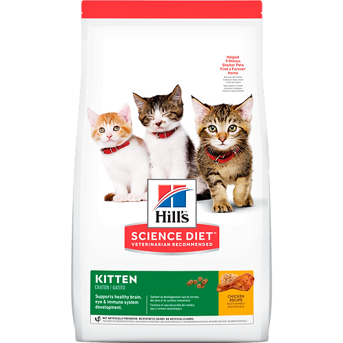 Hill's Science Diet Kitten, alimento para gatitos 1.58 kg.