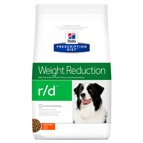 Hill's Prescription Diet r/d, Reducción del peso, Alimento para Perro, 3.85kg