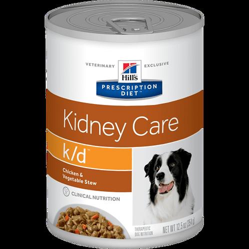 Hill's Prescription Diet k/d, Salud Renal, Alimento para Perro, 350gr