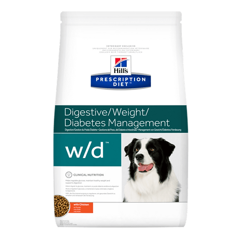Hill's Prescription Diet wd, control de peso y de la glucosa, 3.85kg