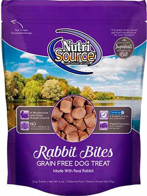 TREATS NUTRI SOURCE GRAIN FREE RABBIT