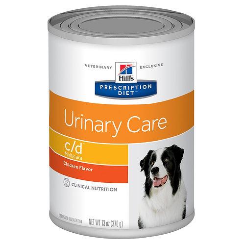 Hill's Prescription Diet c/d, Cuidado Urinario, Alimento para Perro, 350gr