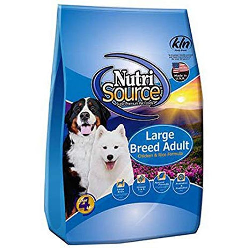 NUTRI SOURCE ADULTO LARGE BREED CHICKEN