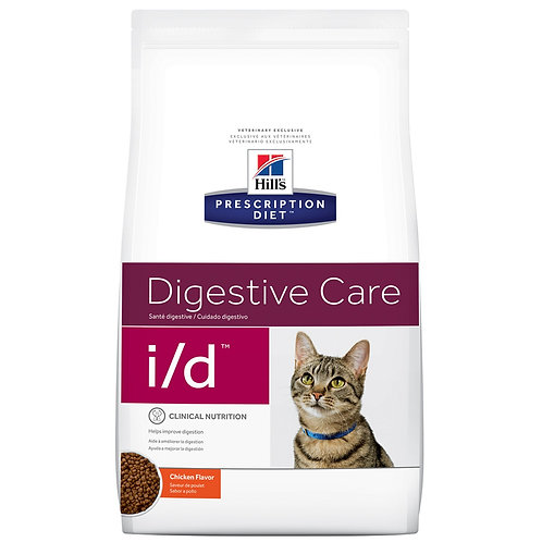 Hill'sPrescription Diet i/d, Salud Gastrointestinal, Alimento para Gato 1.81kg