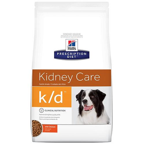Hill'sPrescription Diet k/d, Cuidado renal, Alimento para Perro, 3.85kg