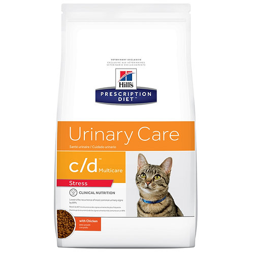 Hill's Prescription Diet c/d stress, Cuidado Urinario 1.81kg