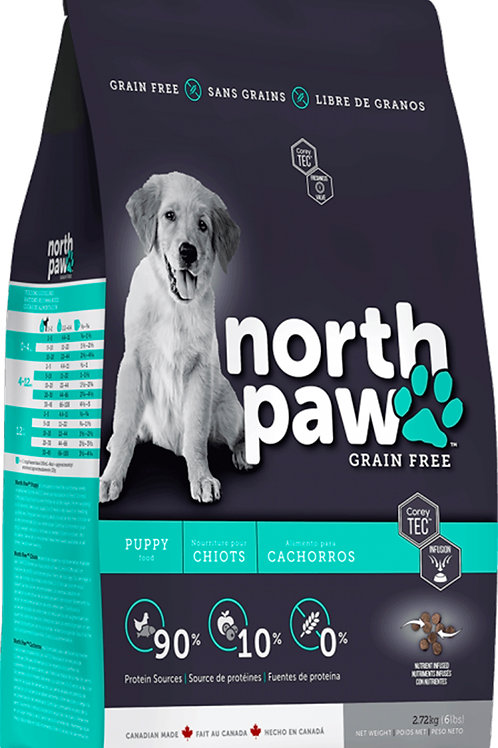 NORTH PAW GRAIN FREE CHICKEN - FISH PUPPY