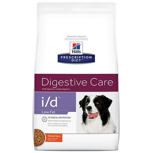 Hill's Prescription Diet i/d, Salud Gastrointestinal Low Fat, 3.85kg