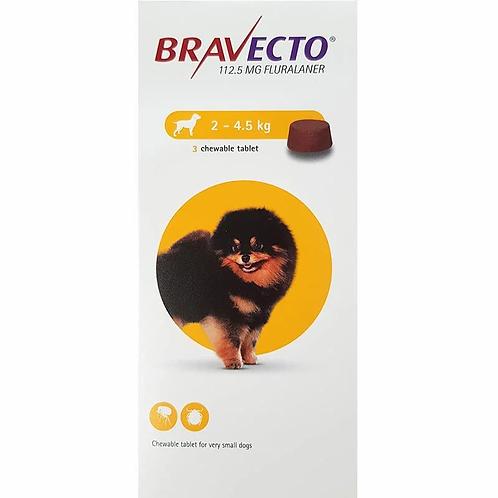BRAVECTO 2 - 4.5KG